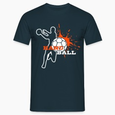 HANDBALL Spieler-Splash T-Shirts