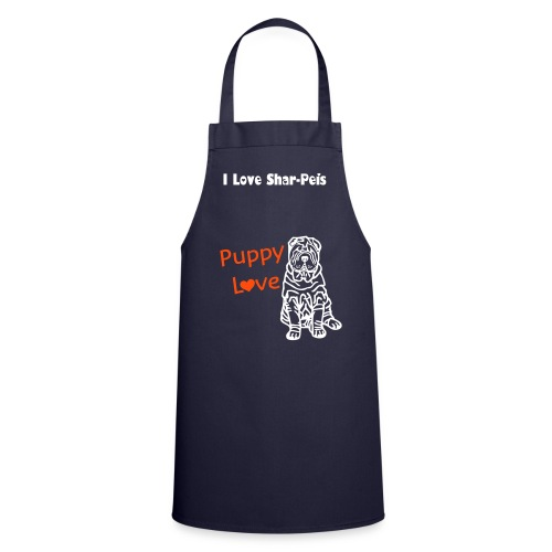 sharpei apron - Cooking Apron