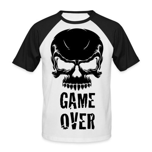 GAME OVER - T-shirt baseball manches courtes Homme