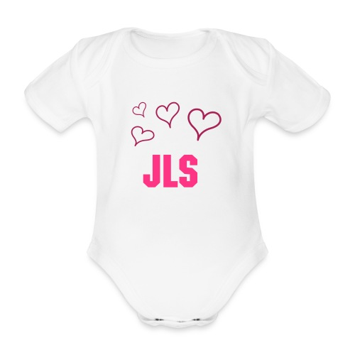 JLS baby grow. - Organic Short-sleeved Baby Bodysuit