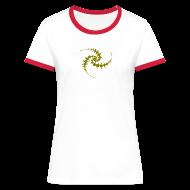 T-Shirts ~ Frauen Kontrast-T-Shirt ~ Artikelnummer 13093717