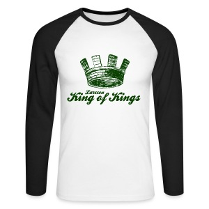 Larsson - King of Kings - Men's Long Sleeve Baseball T-Shirt