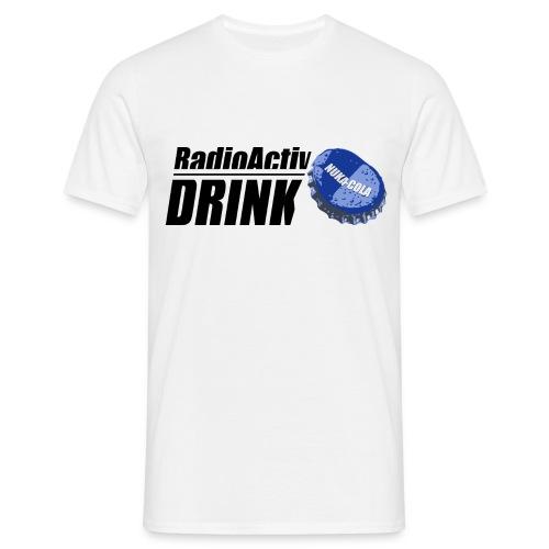 RadioActiv Drink NOIR - T-shirt Homme