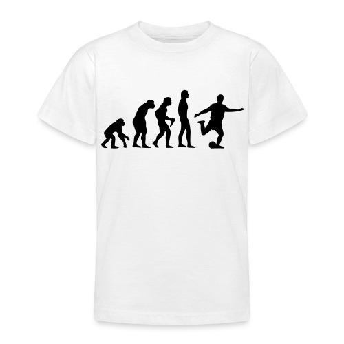 T-Shirt Fußball Evolution - Teenager T-Shirt