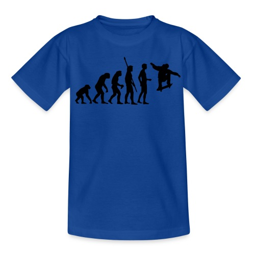 Marken Langarmshirt  Skater Evolution - Teenager T-Shirt