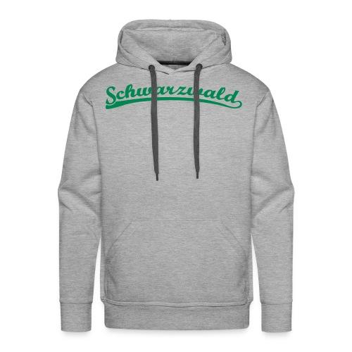 Schwarzwald Retro Schrift Hoody  - Männer Premium Hoodie
