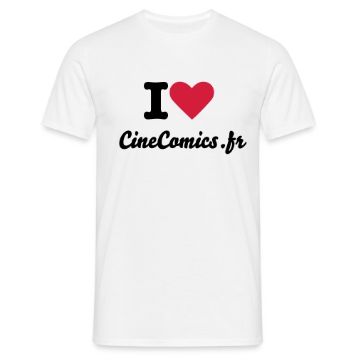 T-shirt i love cinecomics - T-shirt Homme