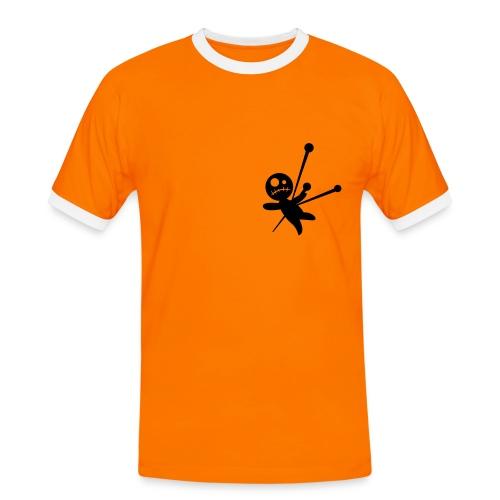 Vodoo - Männer Kontrast-T-Shirt