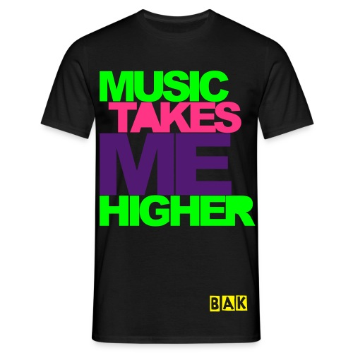 HIGHER - Herre-T-shirt