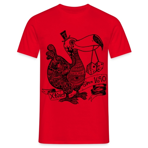 Wotto Dodo - Männer T-Shirt