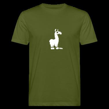 Verde muschio Lama (c) T-shirt