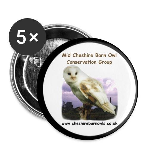 MCBOCG Badge - Buttons large 56 mm