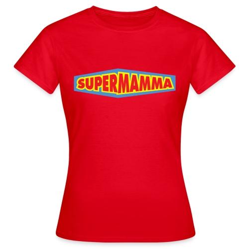 Supermamma - T-skjorte for kvinner