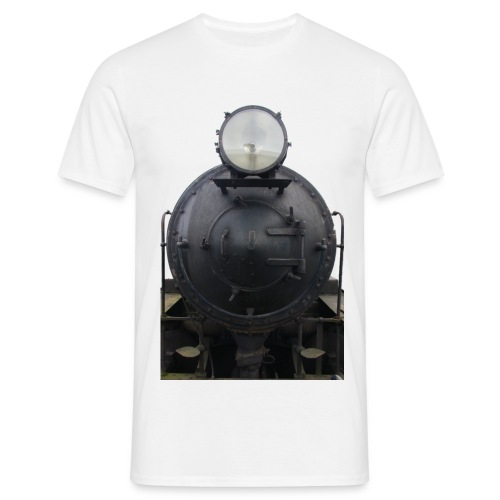 Locomotive front - Men's T-Shirt