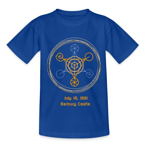 Crop Circle Barbury Castle: Gold Edition - Teenager T-Shirt