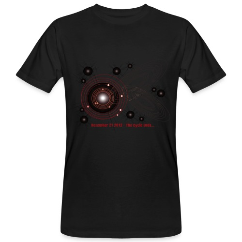 Crop Circle: Planets 12-21-2012 Stars - Männer Bio-T-Shirt
