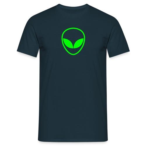 Neon Alien - Männer T-Shirt