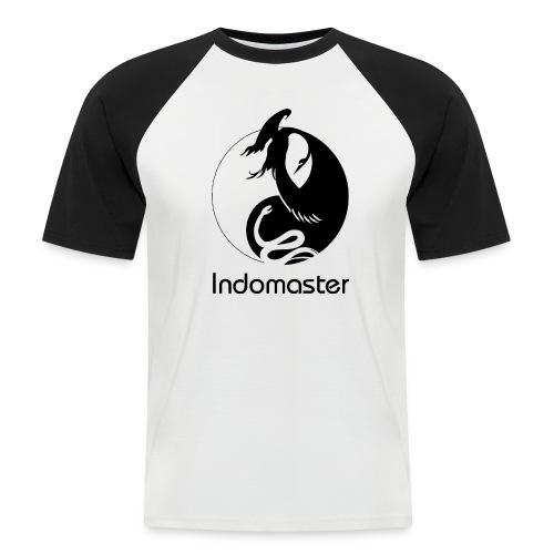 Indomaster Original Short Men Black - Men's Baseball T-Shirt