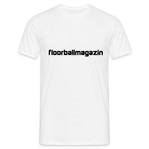 Floorballmagazin White - Männer T-Shirt