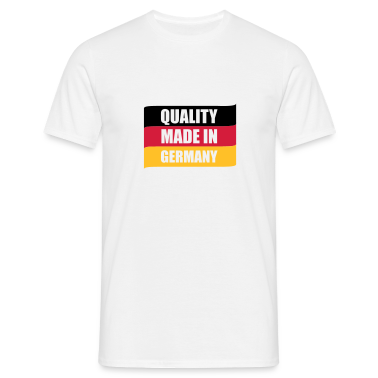 Weiß Quality made in Germany © T-Shirts