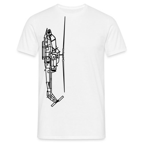 Helicopter - T-shirt herr
