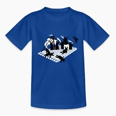 Royal blue Floß der Medusa / medusas raft (2c) Kids' Shirts