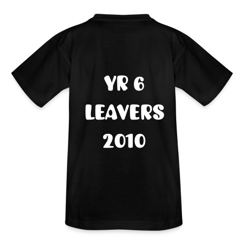 Childs Primary School Leavers Short Sleeve T-Shirt - Teenage T-Shirt