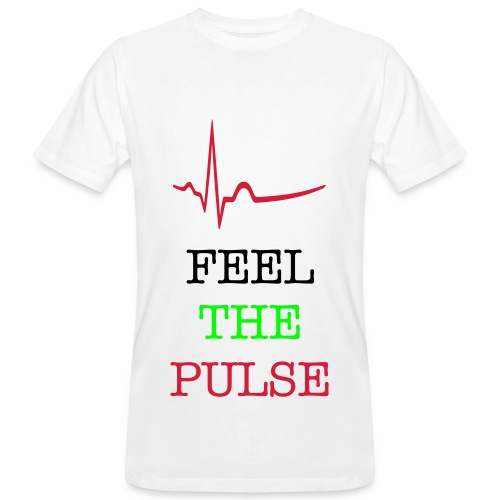 PULSE. - Men's Organic T-Shirt