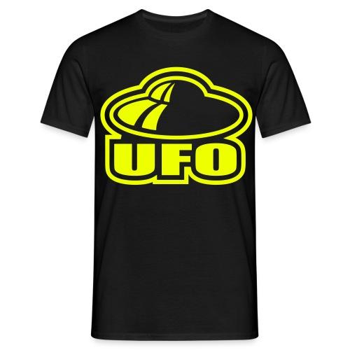 Camiseta Ufo amarillo - Camiseta hombre