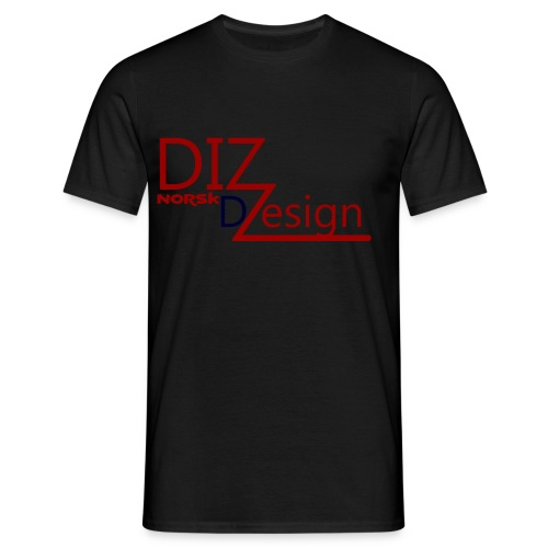 DIZ design - T-skjorte for menn