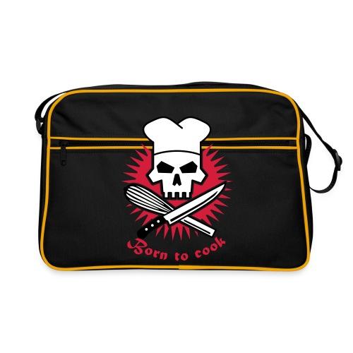Tasche Born to cook - Retro Tasche