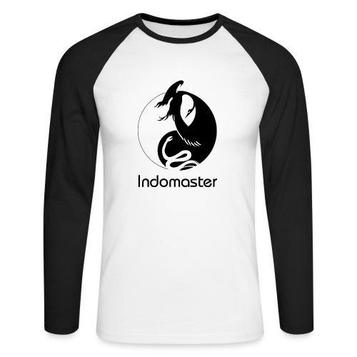 Indomaster Original Long Black Men - Men's Long Sleeve Baseball T-Shirt