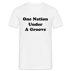 One Nation Under a Groove - Man - Classic - T-shirt Homme