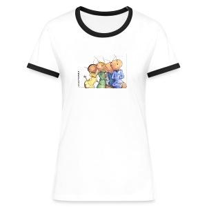 Sommer 2010! - Frauen Kontrast-T-Shirt