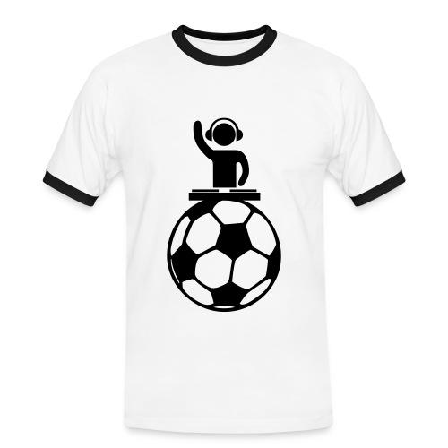 Foot DJ - T-shirt contrasté Homme
