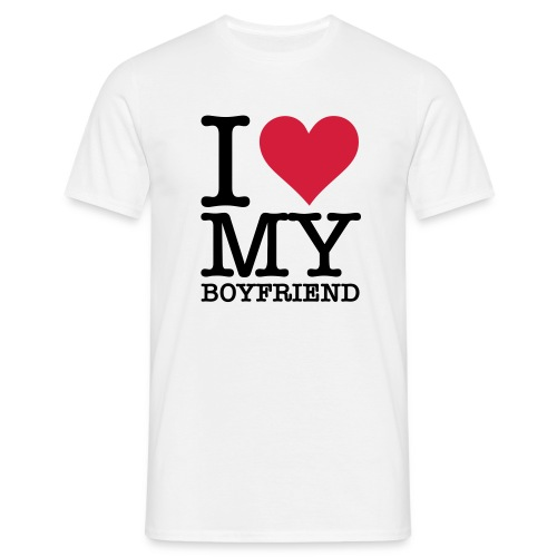 I Love My Boyfriend - T-shirt Homme