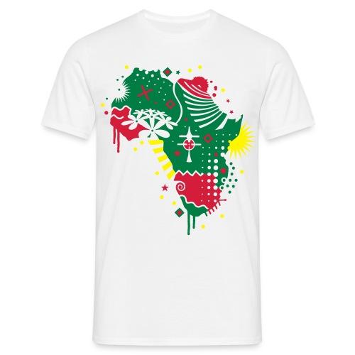 Kingshasa - Africa 2010 blanc - T-shirt Homme