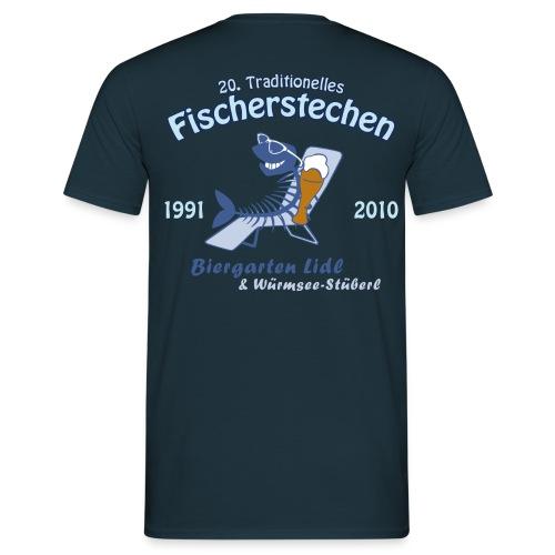 Biergarten Lidl 20. Fischerstechen 2010 - Jubiläumsshirt - Digital Direktdruck - Männer T-Shirt