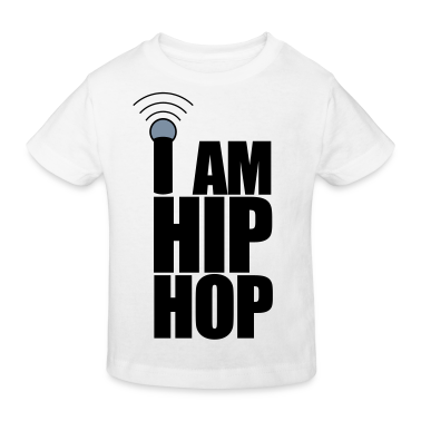 White I Am Hip Hop Kids' Shirts