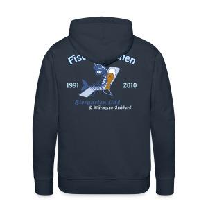 Biergarten Lidl 20. Fischerstechen 2010 - Jubiläumsshirt - Männer Kapuzenpullover - Digital Direktdruck - Männer Premium Hoodie
