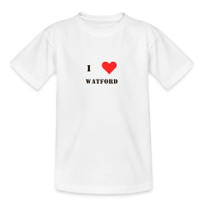 I love Watford - Teenage T-shirt