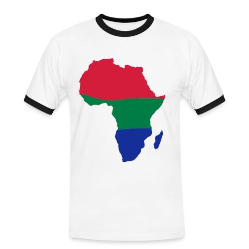 Orange - Africa - Men's Ringer Shirt