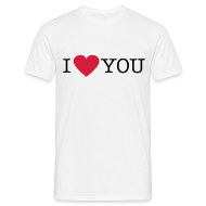 T-shirts ~ Mannen T-shirt ~ I Love You