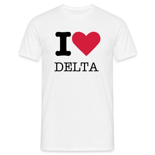 Deltaholic t-Shirt mens - Men's T-Shirt