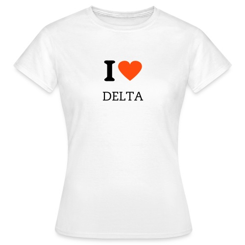 Deltaholic t-shirt ladies - Women's T-Shirt
