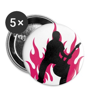 Fire Guitar - Buttons small 25 mm