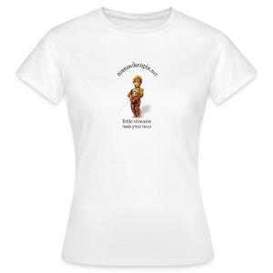 LEOPARD manneken pis - T-shirt Femme
