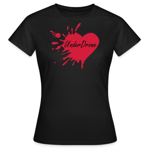 UnderDrone Ruined Heart - Women's T-Shirt