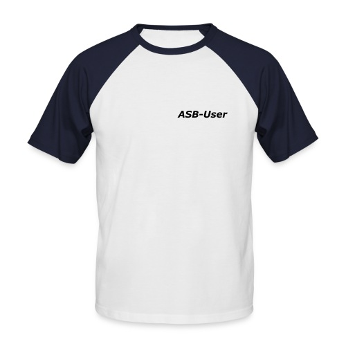 ASB-User kurzarm - Männer Baseball-T-Shirt