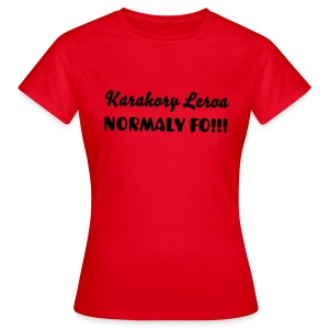 NORMALY - T-shirt Femme